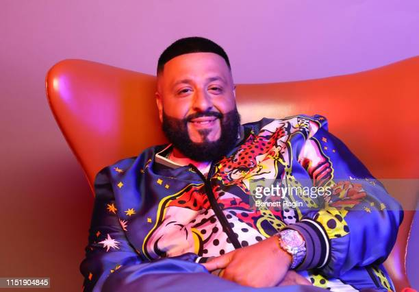 Khaled poses for a portrait during the BET Awards 2019 at Microsoft Theater on June 23 2019 in Los Angeles California