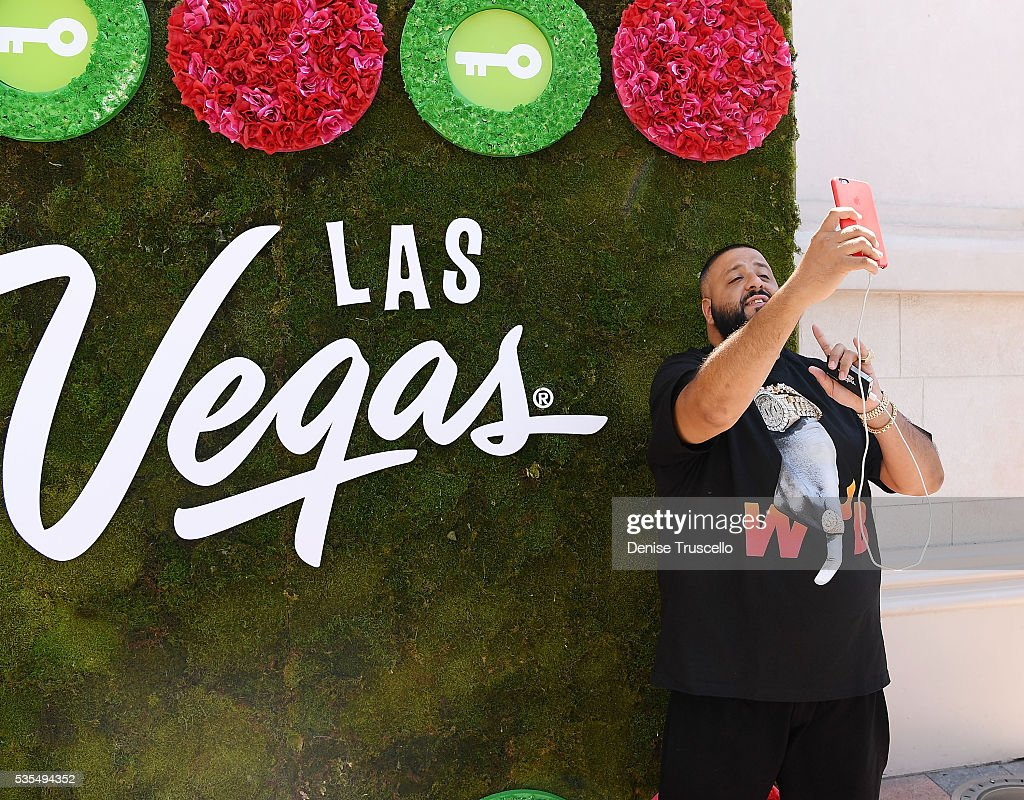 DJ Khaled receives key to the Las Vegas strip and launches official snapchat channel at the Venetian Hotel and Casino on May 29, 2016 in Las Vegas, Nevada.