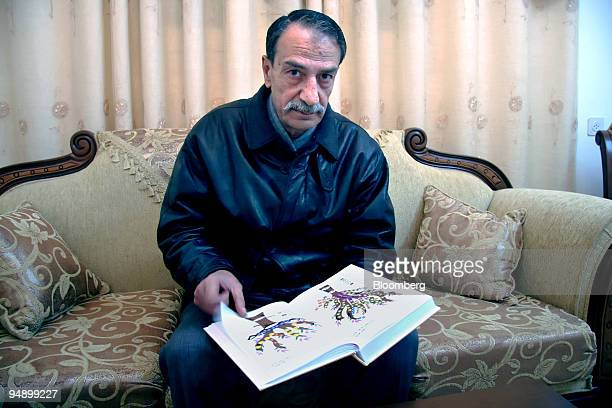 Khaled Shabaan Assad alShawa poses in his home in Gaza on Thursday Feb 14 2008 The first Shawas ancestors of a prominent Palestinian family came to...