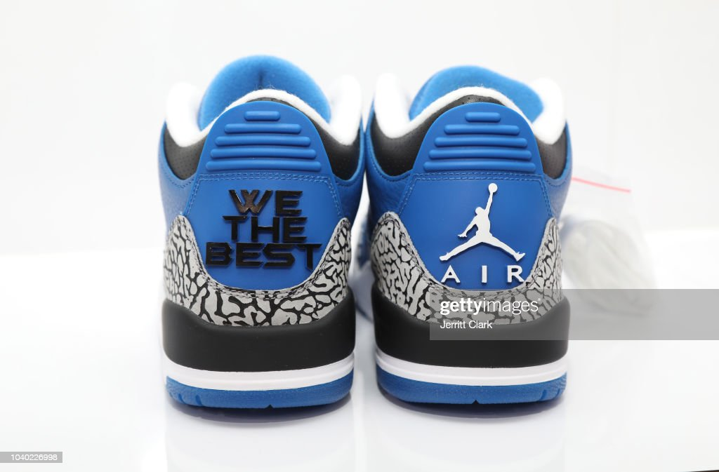 9b5683701e7 DJ Khaled x Brand Jordan  Another One 3 s  seen at the DJ Khaled And ...