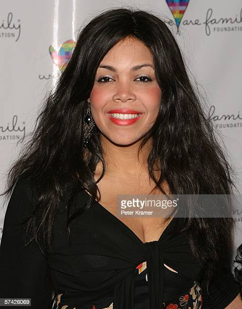 Khalia Ali attends the We Are Family Foundation Gala honoring Elton John Quincy Jones and Tommy Hilfiger at the Hammerstein Ballroom on April 25 2006...