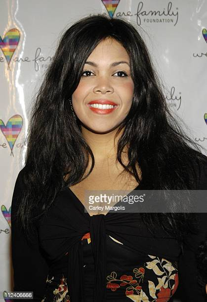 Khalia Ali during We Are Family Foundation To Honor Sir Elton John Quincy Jones Tommy Hilfiger and The Comcast Family of Companies at The Manhattan...