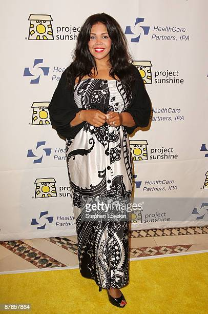 Khaliah Ali attends the 6th Annual Project Sunshine event at Cipriani 42nd Street on May 19 2009 in New York City