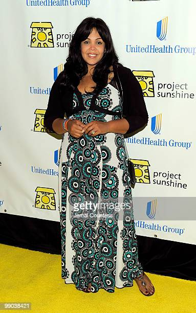 Khaliah Ali poses for photos at the 7th Annual Project Sunshine Benefit at The Waldorf Astoria on May 11 2010 in New York City