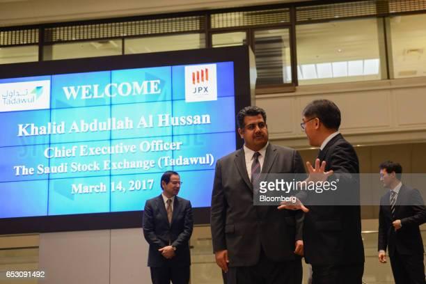 11 Saudi Arabia Stock Exchange Ceo Khalid Al Hussan Visits