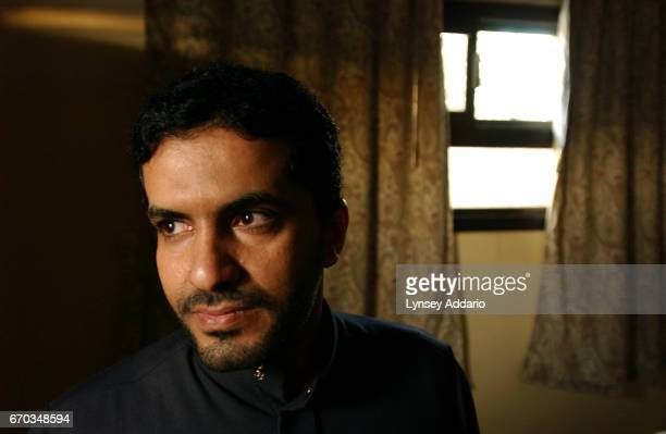 Khalid AlGhannami a writer and columnist a critic of Wahhabism and a former extremist himself stands for a portrait in his living room December 8...