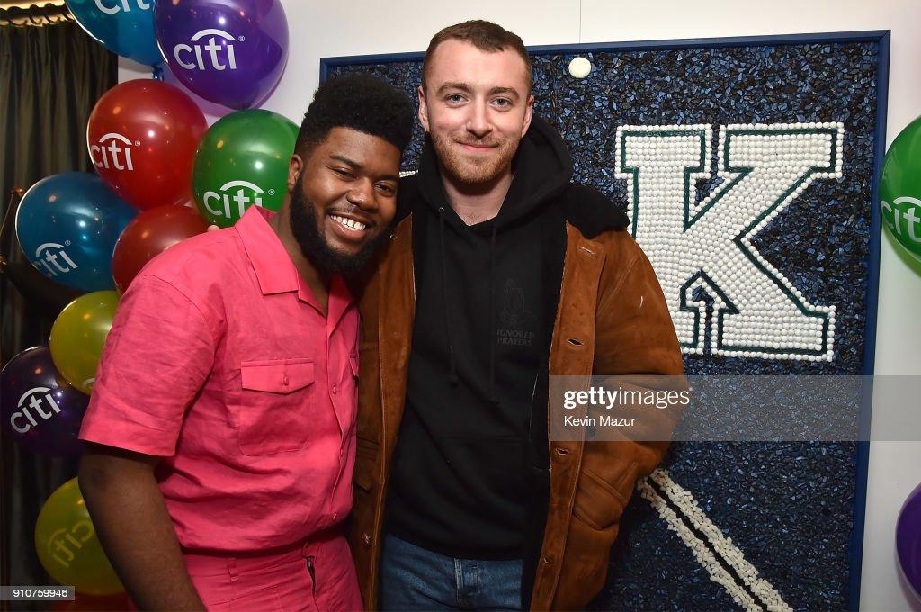 Citi celebrates 5X GRAMMY nominated artist Khalid at 'American Teen' Event : Nachrichtenfoto