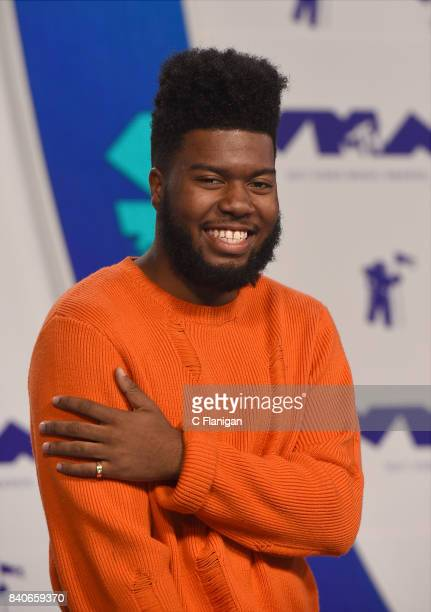 Khalid arrives at the 2017 MTV Video Music Awards at The Forum on August 27 2017 in Inglewood California