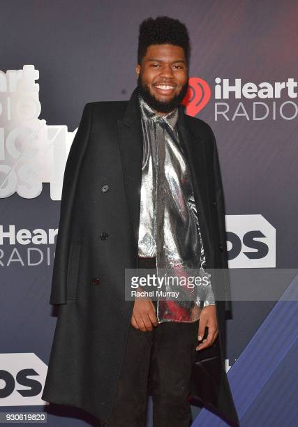 Khalid arrives at the 2018 iHeartRadio Music Awards which broadcasted live on TBS TNT and truTV at The Forum on March 11 2018 in Inglewood California
