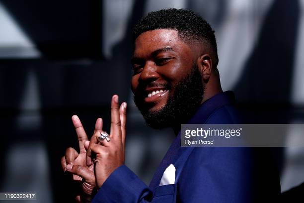 Khalid arrives for the 33rd Annual ARIA Awards 2019 at The Star on November 27 2019 in Sydney Australia