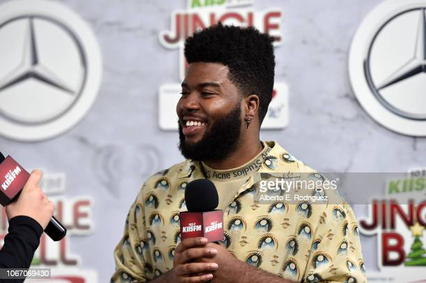 Khalid attends 1027 KIIS FM's Jingle Ball 2018 Presented by Capital One at The Forum on November 30 2018 in Inglewood California