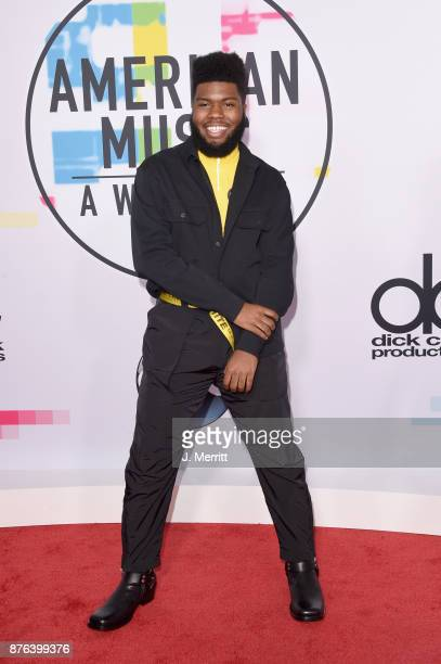 Khalid attends 2017 American Music Awards at Microsoft Theater on November 19 2017 in Los Angeles California