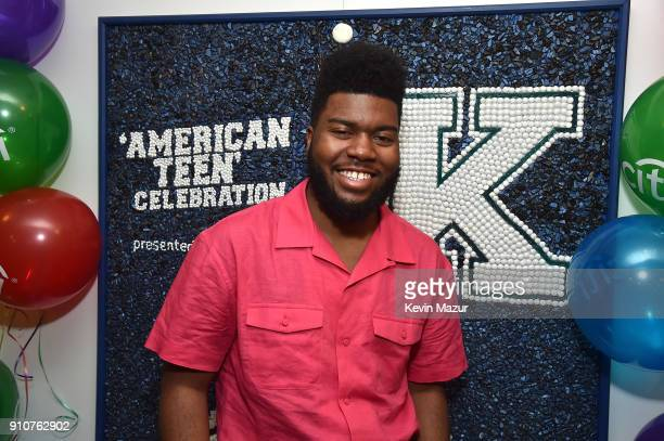 Khalid attends Citi's 'American Teen' Event at Soho House on January 26, 2018 in New York City.
