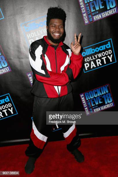 Khalid attends Dick Clark's New Year's Rockin' Eve with Ryan Seacrest 2018 on December 31 2017 in Los Angeles California