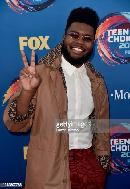 Khalid attends FOX's Teen Choice Awards at The Forum on August 12 2018 in Inglewood California