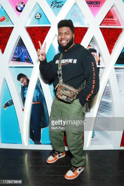 Khalid attends Khalid's 21st Birthday Party on February 11, 2019 in Beverly Hills, California.