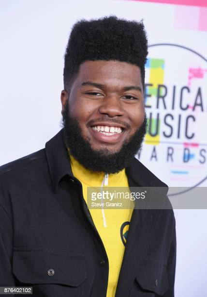Khalid attends the 2017 American Music Awards at Microsoft Theater on November 19 2017 in Los Angeles California