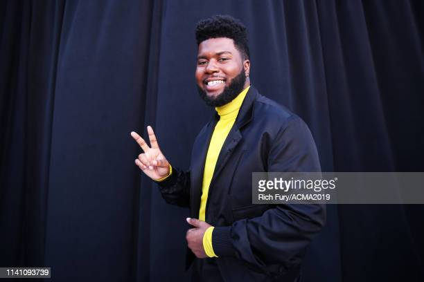 Khalid attends the 54th Academy Of Country Music Awards at MGM Grand Garden Arena on April 07, 2019 in Las Vegas, Nevada.