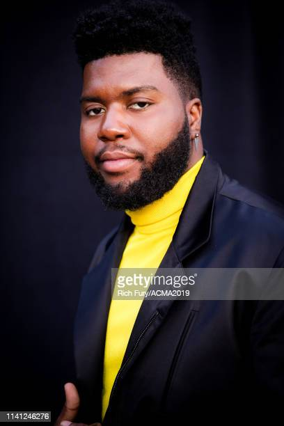 Khalid attends the 54th Academy Of Country Music Awards at MGM Grand Garden Arena on April 07 2019 in Las Vegas Nevada