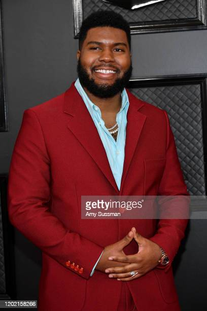 Khalid attends the 62nd Annual GRAMMY Awards at Staples Center on January 26, 2020 in Los Angeles, California.