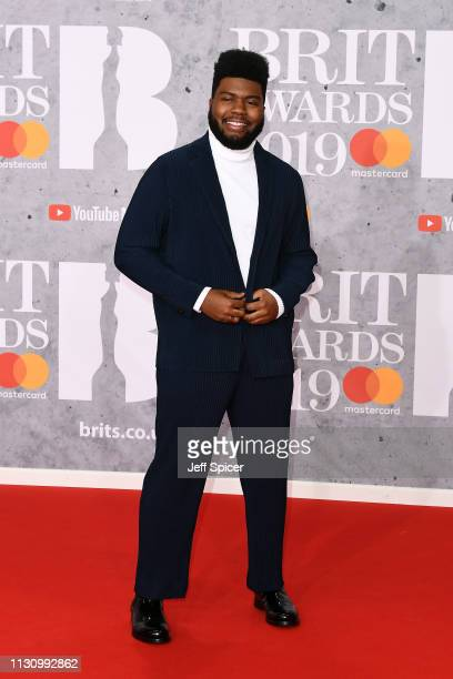 Khalid attends The BRIT Awards 2019 held at The O2 Arena on February 20 2019 in London England