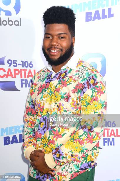 Khalid attends the Capital FM Summertime Ball at Wembley Stadium on June 08 2019 in London England