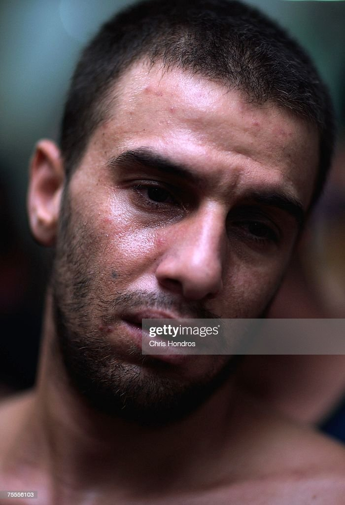 Khalid Hashimi of Yarmouk , 24, is seen at an Iraqi detention center July 19, 2007 in Baghdad, Iraq. He's been there for five months and is suffering from a skin condition from the crowded conditions. The Iraqi detention facility at Forward Operating Base Justice in west Baghdad holds nearly a thousand men in an area designed for 300, from insurgents who have killed dozens to some who were likely simply swept up in raids and were in the wrong place at the wrong time .