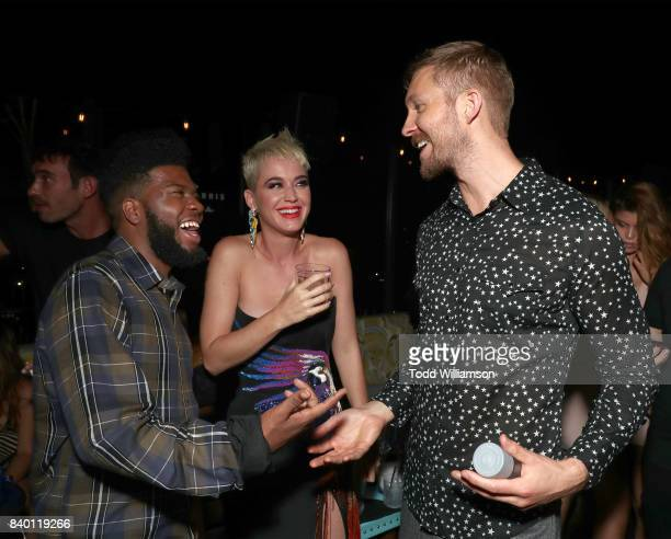 Khalid Katy Perry and Calvin Harris attend a MTV VMA Post Party hosted by Calvin Harris and Emil Nava with TIDAL x Sprint at the Highlight Room at...