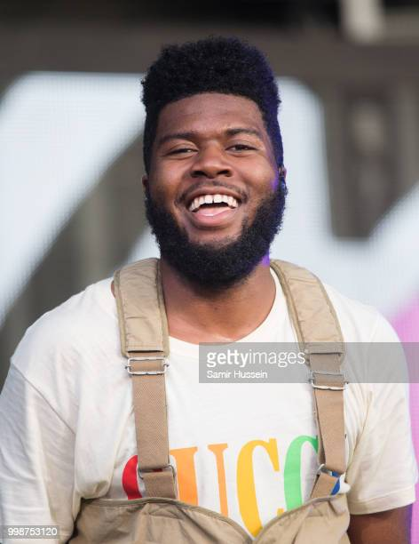 Khalid performs at Barclaycard present British Summer Time Hyde Park at Hyde Park on July 14 2018 in London England