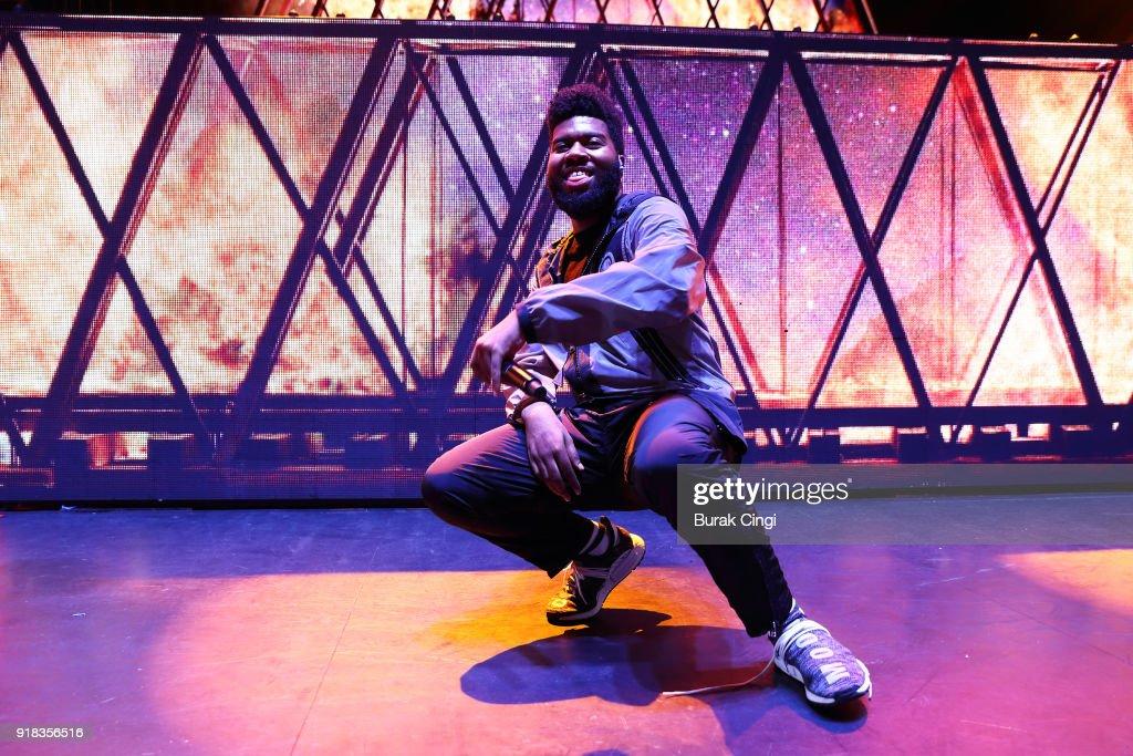 Khalid Performs At Eventim Apollo, London : News Photo