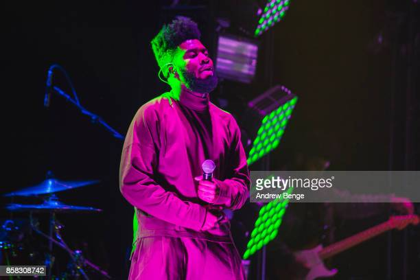 Khalid performs at O2 Apollo Manchester on September 26, 2017 in Manchester, England.