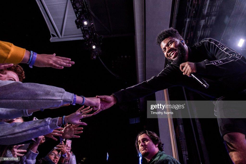 Khalid Performs At Greek Theatre : News Photo