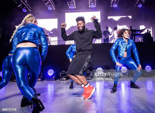 Khalid performs at The Greek Theatre on May 9 2018 in Los Angeles California