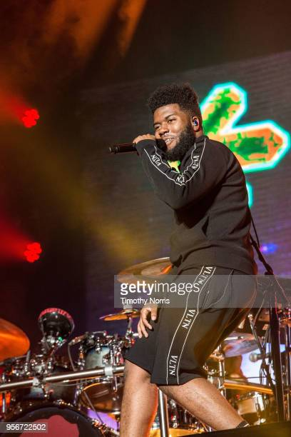 Khalid performs at The Greek Theatre on May 9, 2018 in Los Angeles, California.