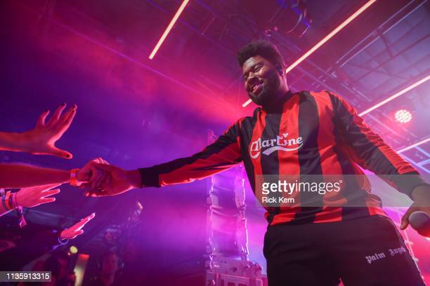 Khalid performs at the Uber Eats house during SXSW on March 14 2019 in Austin Texas