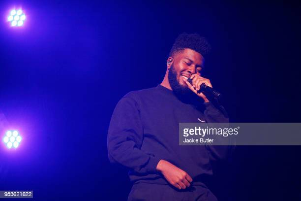Khalid performs at Theater of The Clouds at Moda Center on May 1 2018 in Portland Oregon