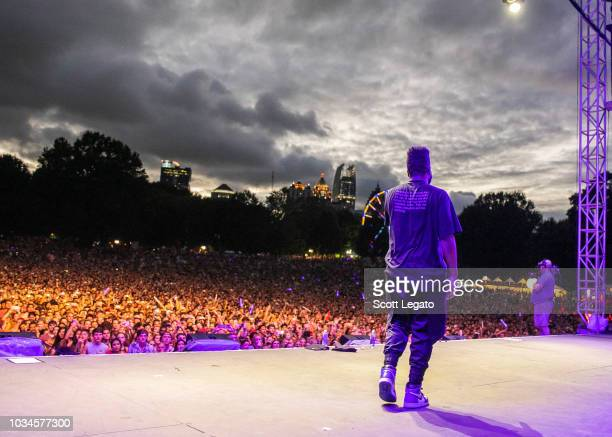 Khalid performs during Day 2 of Music Midtown Festival at Piedmont Park on September 16, 2018 in Atlanta, Georgia.