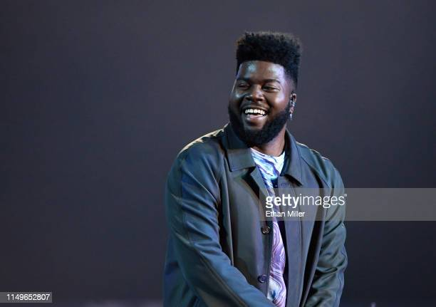 Khalid performs during the 2019 Billboard Music Awards at MGM Grand Garden Arena on May 1, 2019 in Las Vegas, Nevada.