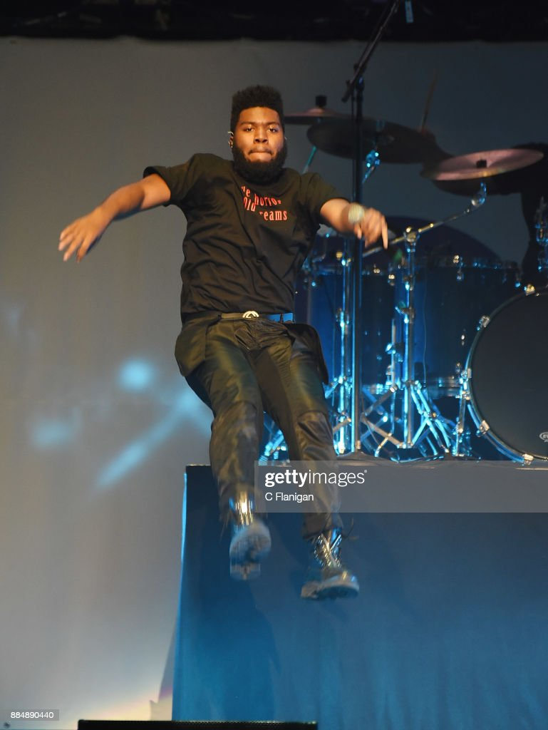 Khalid performs during the 99.7 NOW! POPTOPIA at SAP Center on December 2, 2017 in San Jose, California.