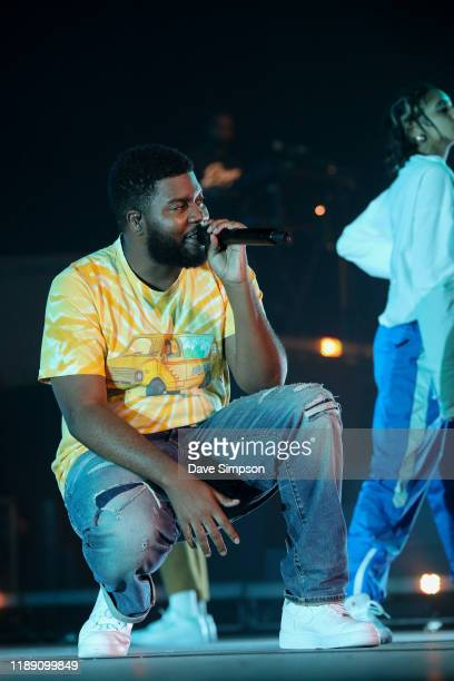 Khalid performs on stage at Spark Arena on November 21, 2019 in Auckland, New Zealand.