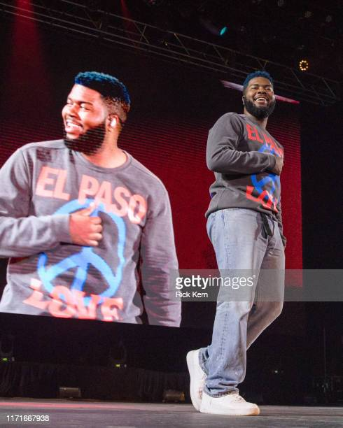 Khalid performs onstage during 'A Night For Suncity' benefit concert with Khalid Friends at the Don Haskins Center on September 01 2019 in El Paso...