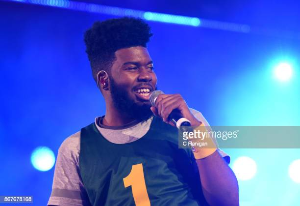 Khalid performs onstage during Vevo Halloween 2017 at Craneway Pavilion on October 28 2017 in Richmond California