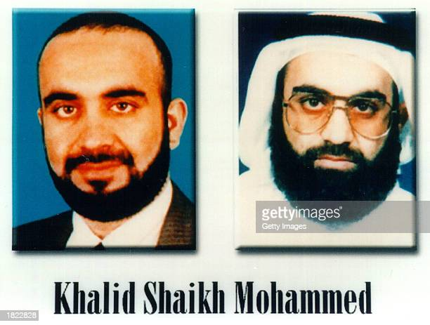 Khalid Shaikh Mohammed, a suspected al Qaeda terrorist, is shown in this photo released by the FBI October 10, 2001 in Washington, D.C. Mohammed was...