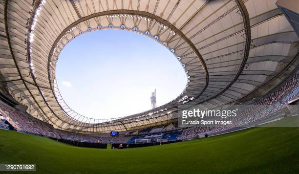 Khalifa International Stadium views during the AFC Champions League Round of 16 match between Yokohama F.Marinos and Suwon Samsung Bluewings on...