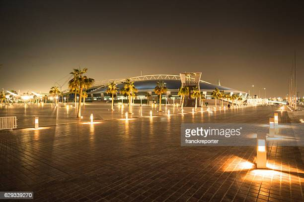 khalifa stadium in doha - international soccer event stock pictures, royalty-free photos & images
