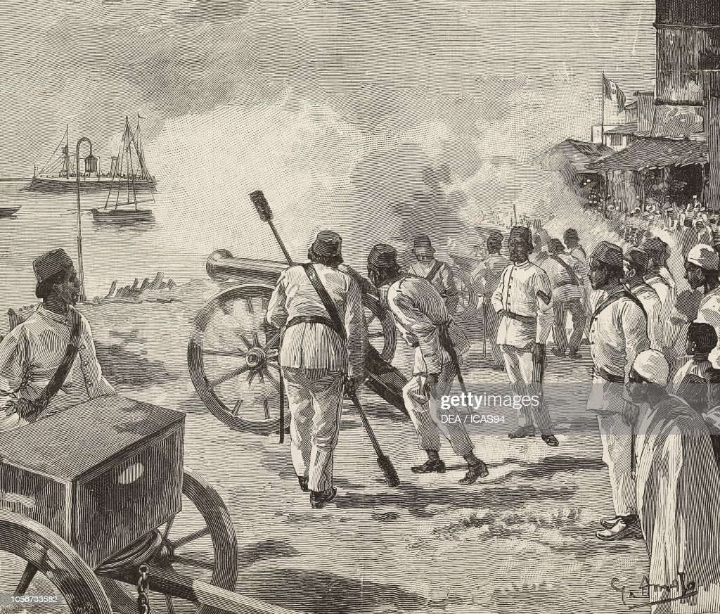 Khalifah bin Said, Sultan of Zanzibar, Zanzibar : Photo d'actualité