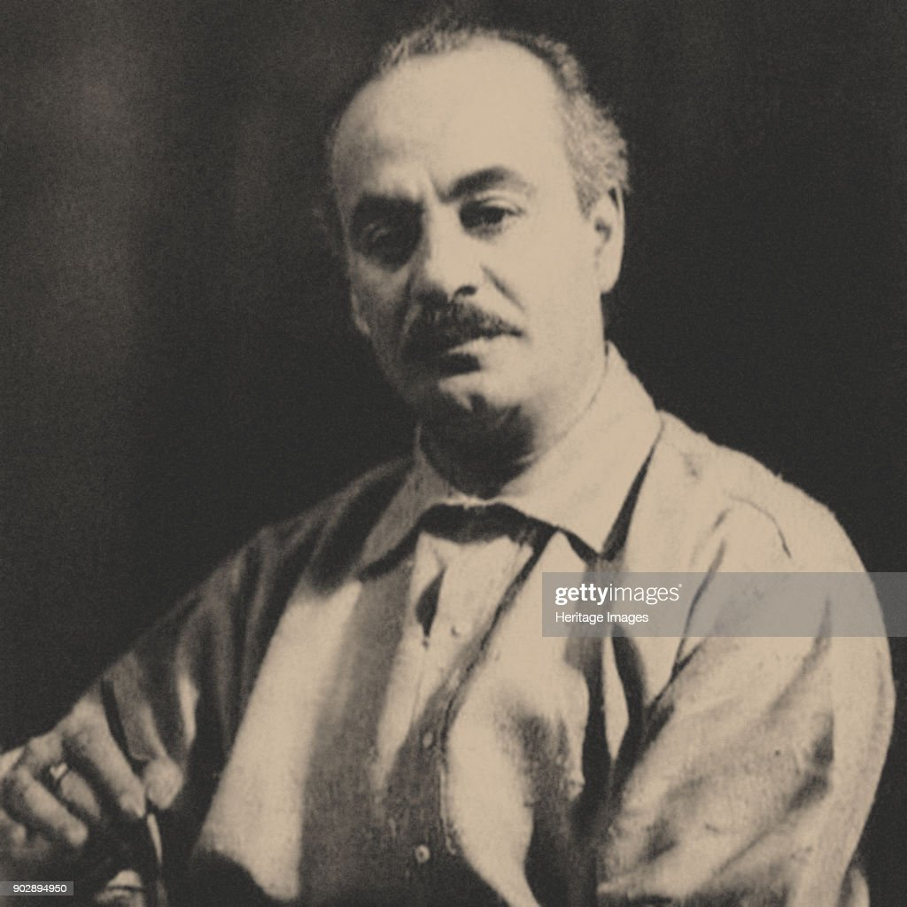 Khalil Gibran (1883-1931). Private Collection.