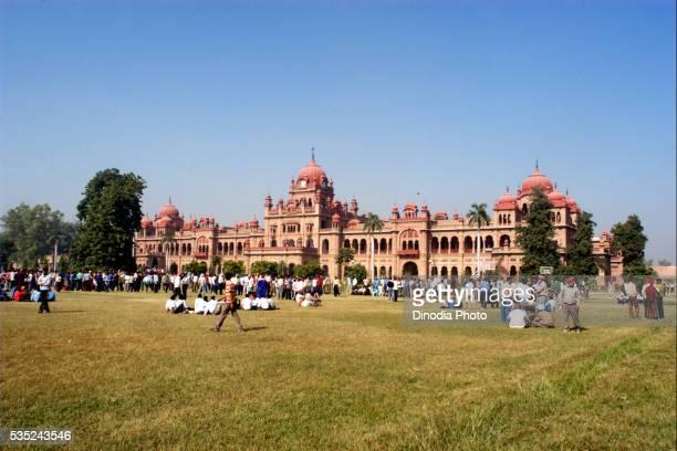 khalsa college in amritsar, punjab, india. - punjab university stock pictures, royalty-free photos & images