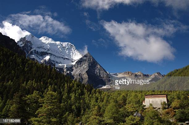 Kham Tibet: Shangrila de Yading Nature Park (le SiChuan, en Chine