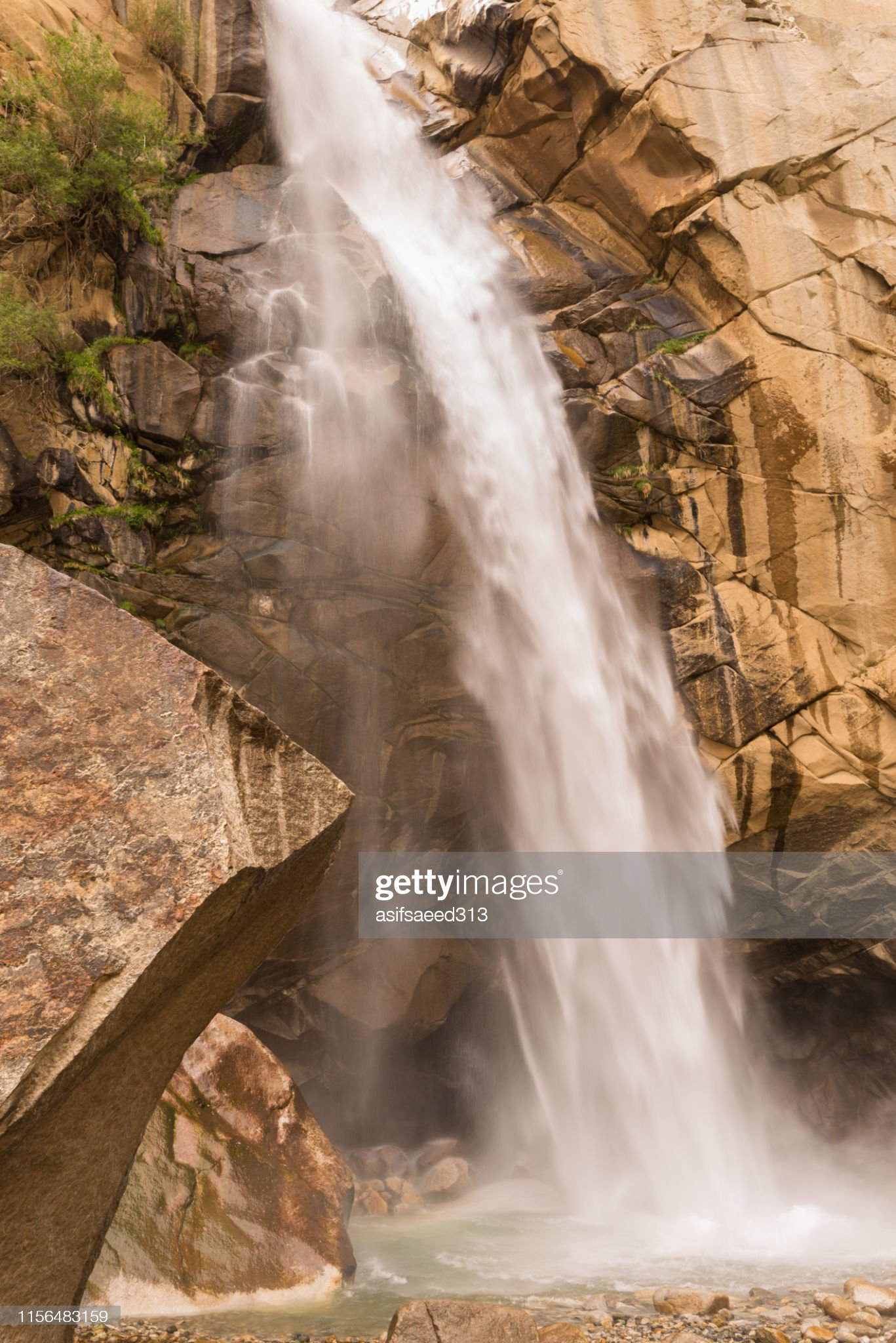 Khamosh Waterfall, Skardu, Gilgit-Baltistan, Travel to north, Traveltonorth.com